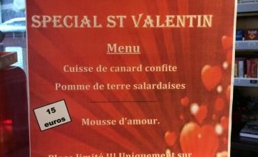 Soirée St-Valentin